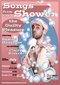 SONGS FROM THE SHOWER POSTER (small) - Copy