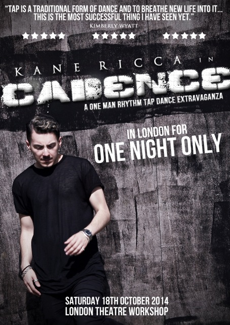 Kane D  Ricca in CADENCE – Front Page | London Theatre Workshop